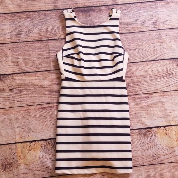 Zara Dresses & Skirts - Zara Trafaluc S striped sleeveless dress